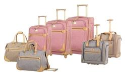 Wheeled Duffel Bag: Tan
