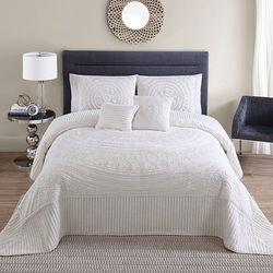 Victoria Classics 5-pc. Hilltop Bedspread - Ivory - Size: Queen