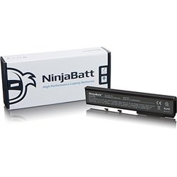 NinjaBatt New Laptop Battery for Acer GARDA31 BTP-AMJ1 BTP-AQJ1 BTP-ARJ1 MS2180 MS2204 MS2229 TM07A72 TM07B41 - High Performance [6 Cells/4400mAh/49wh]
