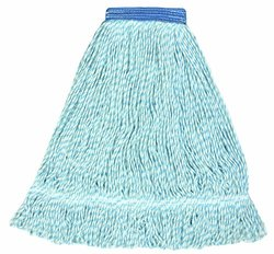 "Wilen A03703 - J W Atomic Finish Wet Mop - Large 5"" Mesh Band Case of 12"