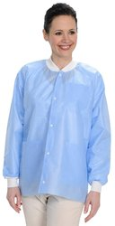 ValuMax Easy Breathe Cool & Strong Hip Length Jacket - Medical Blue - 5XL