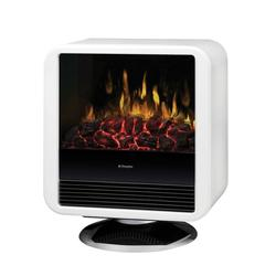 Dimplex Electric Fireplace White Cube Heater