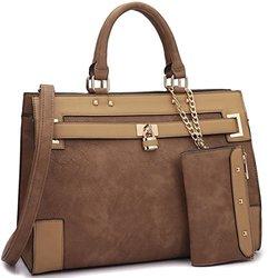 Dasein Fall Preview Collection Handbags: Brown