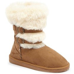 Serene Jaine Women's Boots: Chestnut/7