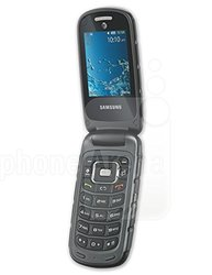 Samsung Rugby 3 A997 GSM Unlocked Rugged Flip Phone - Dark Gray