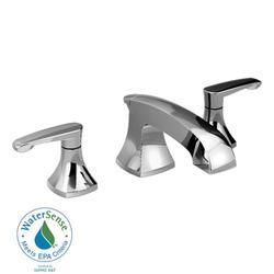 "Copeland 8"" Widespread 2-Handle Low-Arc Bathroom Faucet - Polished Chrome"