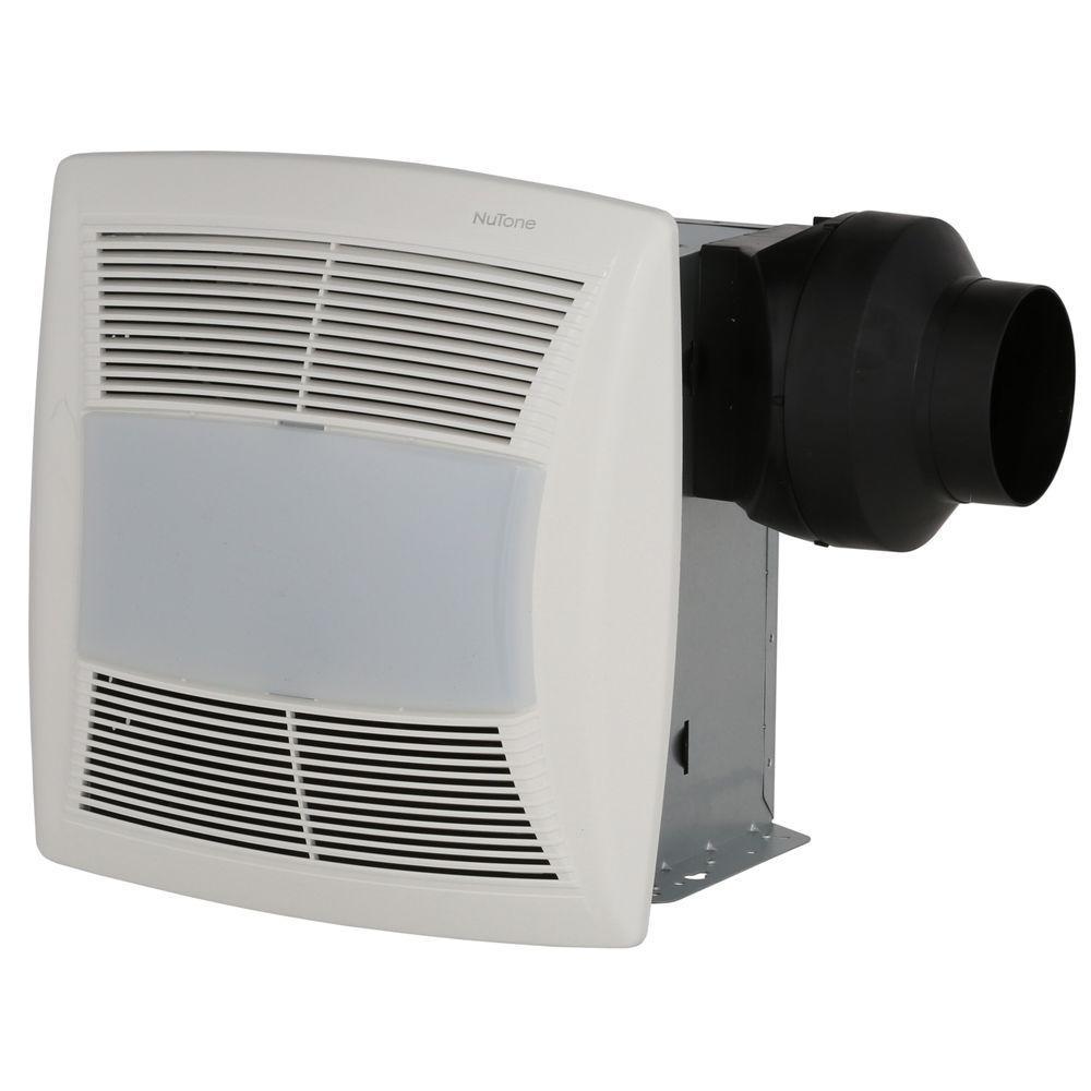Nutone qtn130le1 qt series quiet 130 cfm ceiling exhaust fan with nutone qtn130le1 qt series quiet 130 cfm ceiling exhaust fan with light aloadofball Images