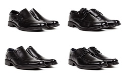 Bonafini Men's Classic Dress Shoes: Classic Lace-up/8.5