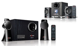 New Axess 2.1 Mini Entertainment System MSBT3907