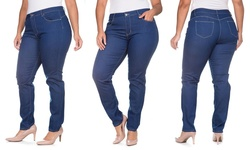 Dark Blue Buttlifter 5-pocket Jeans: 13/14