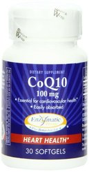 Enzymatic Therapy 100 Mg Coq10 Heart Health Softgels - 30 Counts each