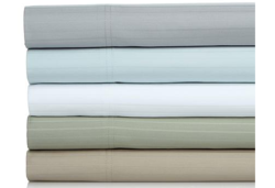 Concierge Collection 800 TC 6-piece Sheet Set - Light Blue - Size: Queen