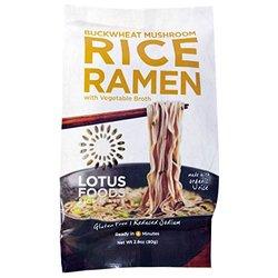 Lotus Foods Organic Lotus Bk Msh Brown Rice - 2.8Oz - Pack Of 10
