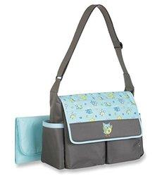Baby Boom Blue Owl Diaper Bag Tote