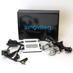 "Innovited AC 55W HID Xenon Conversion Kit With ""Slim"" ballast - H7 - 8000K - 2 Bulbs & 2 Ballasts"