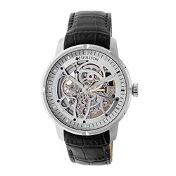Heritor Automatic Ryder Men's Watch: Silver/4601