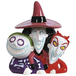 Westland Giftware Ceramic Cookie Jar-Lock, Shock, Barrel, Multicolor