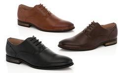 Franco Vanucci Men's Dress Shoe Lace-up Andrew-1 Brown 11.5