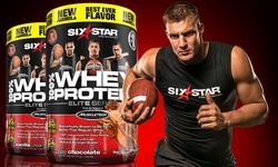 Six Star Elite Series Whey Protein 2lbs: Vanilla (2-pack)