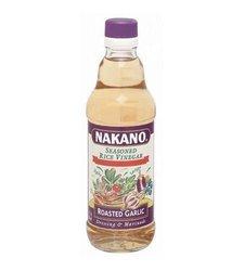 Nakano Seasoned Rice Vinegar with Garlic - 6x12 Oz