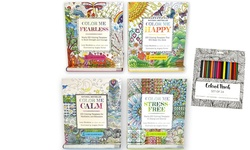 Adult Coloring Books (4-pack)