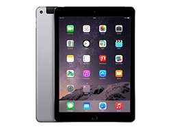 "Apple iPad Air 2 9.7"" Tablet 64GB Wi-Fi + Cellular -Space Gray (MH2M2LL/A)"