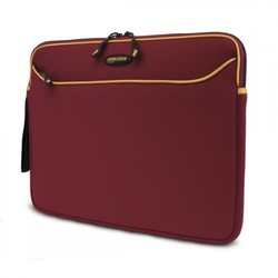 "Mobile Edge 14.1"" Notebook Carrying Case - Burgundy/Red/Gold - (10504470)"