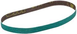 "3M Cloth Belt 577F Wet/Dry 80 Grit - Green - Size: 0.5""x 12"""