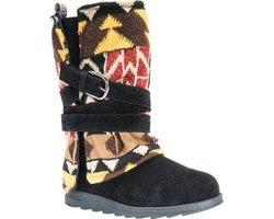 Muk Luks Women's Nikki Boots: Gray-patterned/8