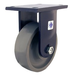 Rwm Casters Plate Caster - Heavy Duty Forged Steel Wheel - 20000 lbs