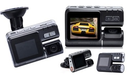 "Techy Guru 2"" HD Multi Angle Car DVR Camera with G-Sensor & Night Vision"