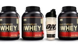 100% Whey With Shaker Cup: Vanilla Ice Cream