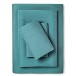 Room Essentials Microfiber 3 Piece Sheet Set  - Turquoise - Size:  Twin XL