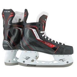 CCM Jet Speed 270 Junior Skates - Black/Red - Size: 3D