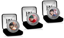 Silver Color Coin Multi (39mm): Carey Price