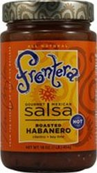Frontera Very Hot Habanero Salsa - Pack of 6 - 16 oz. each