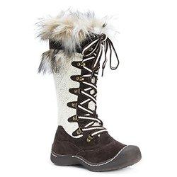Women's Gwen Snowboots - Brown - Size: 10