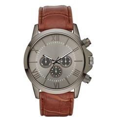 Wristwatch Mb Brn Gunmet Solid