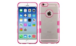Insten Gel Case For Apple iPhone 6 - Hot Pink / Clear