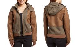 Olivia Miller Quilted Jacket: Large
