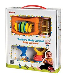 Edushape Baby's Four bright and Colorful Music Carnival Set