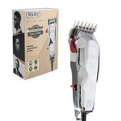 Wahl Professional 5-Star Senior Vintage Edition Clipper #8545-300 - Blades Adjust to Zero Overlap - V9000 Electromagnetic Motor - Includes 3 Attachment Combs