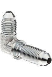 Brennan 27012020 FG Steel JIC Tube Fitting Bulkhead 90 Degree Elbow