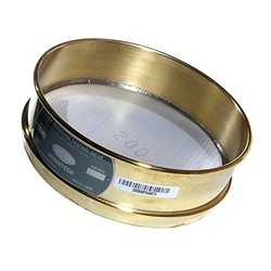 "Advantech Brass Test Sieves 12"" Diameter 2.00"" Mesh"