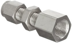 Parker A Lok 6FBC4N316 316 Stainless Steel Compression Tube Fitting