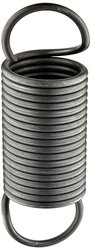 Small Parts Music Wire Extension Spring Steel Wire 10PK - Size: 6""
