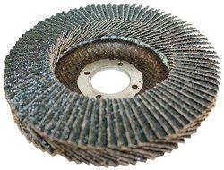 "Sundisc 27 High Density Abrasive Super Flap Disc - 4-1/2"" Dia - 36 Grit"