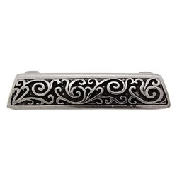 Vicenza Designs Liscio Finger Pull - Vintage Pewter