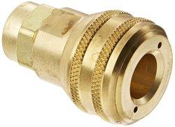 "Eaton Hansen Interchange Pin Lock Pneumatic Fitting - 1/4""-18 NPTF Female"