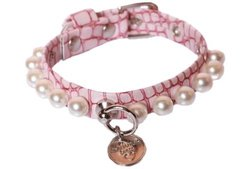Charlotte Dress Collar - Iguana Rose - Size: 0.66""